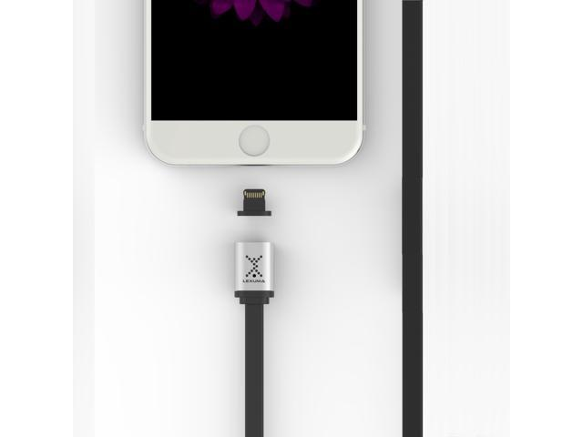 Lexuma XMAG Magnetic Lightning Charging Cable for iPhone, iPad, iPod Touch