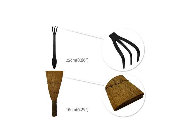 14 Piece Bonsai Tools Kit with Case, Carbon Steel Scissor Cutter Shear Set Garden Plant Tools