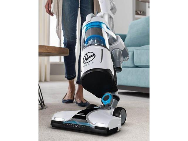 Hoover REACT QuickLift Upright Vacuum Cleaner, UH73301
