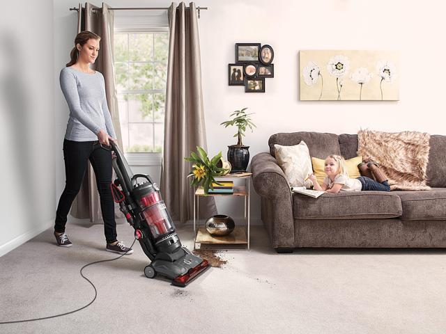 Hoover High Performance Pet Bagless Upright Vacuum Cleaner, UH72630