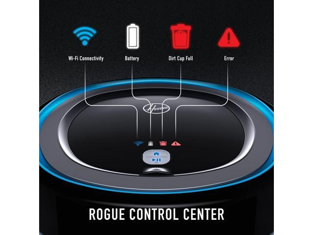 Hoover Rogue 970 WiFi Connected Robot Vacuum with Mapping Technology