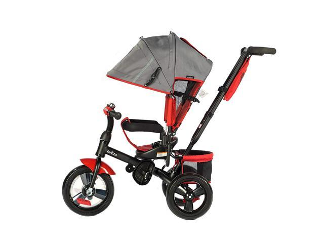 Evezo 4-in-1 Stroller & Tricycle w/ full canopy, 307-30 Kailin