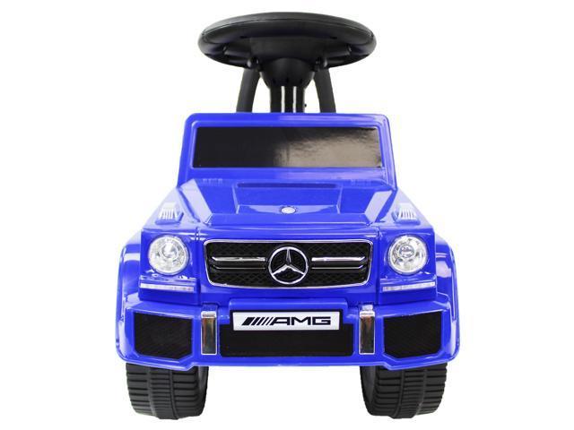 Evezo Mercedes Benz G63 Wagon, Toddler, Ride-on Push Car, Blue