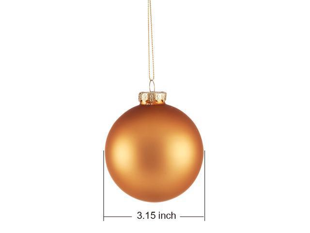 Comix Solid Color Christmas Ball Ornaments