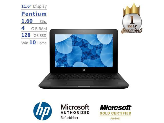 "Refurbished: Pavilion x360 11.6"" Pentium, 4GB, 128GB, Windows 10 Laptop"