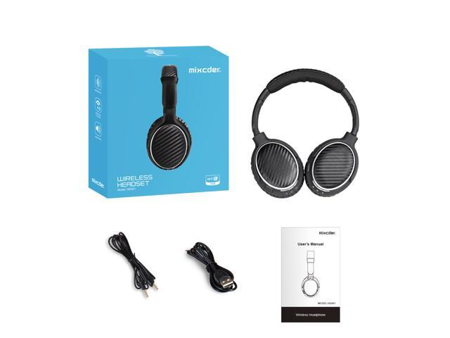 Mixcder HD401 Wireless + Wired Over Ear Headphones Bluetooth V4.0+ ...
