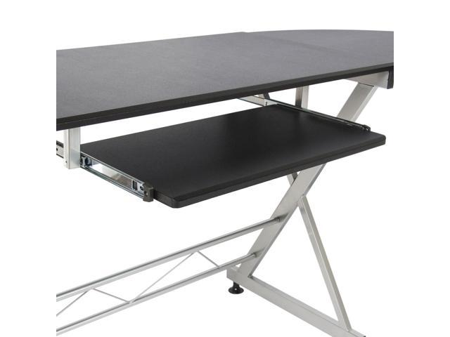 L-Shaped Durable Wooden Splicing Computer Desk