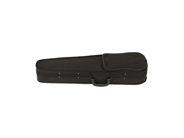 New 1/4 Acoustic Violin + Case + Bow + Rosin Suitable for 6-8 years old Kids Black