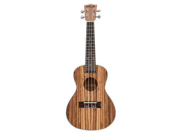 "Superior 23"" Exquisite Hawaiian Wood Concert Ukulele Musical Instrument Guitar"