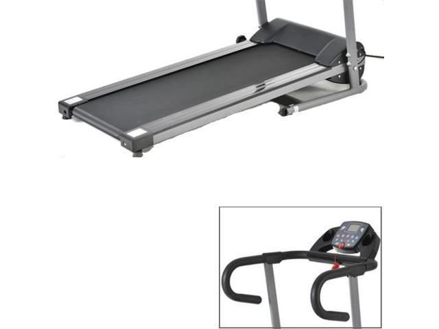 1100W Folding Treadmill Electric Support Motorized Power Running Fitness Machine