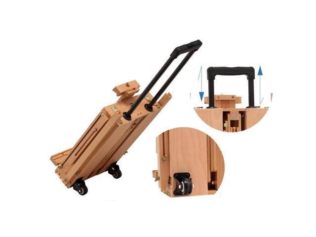 French Easel Wooden Sketch Box Portable Folding Art Artist Painters Tripod New ...  sc 1 st  Newegg Flash & French Easel Wooden Sketch Box Portable Folding Art Artist ... Aboutintivar.Com