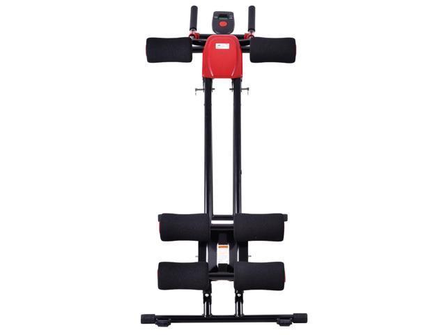 Finether AB Cruncher Abdominal Trainer Glider Machine Fitness Exercise Equipment