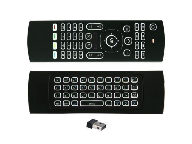 MX3B 2.4GHz 81 Keys Backlight Wireless fly Air Mouse Remote forAndroid TV BOX