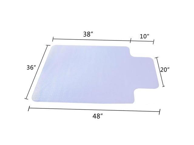 "New 36"" X 48"" Low Carpet Floor Chair Mat Office Home Desk Room Protect Carpet"