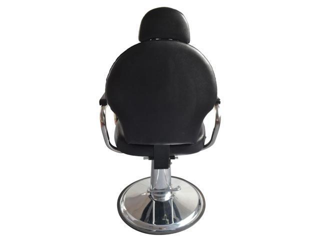 Hydraulic Reclining Barber Chair Shampoo Salon Equipment Styling Beauty Spa