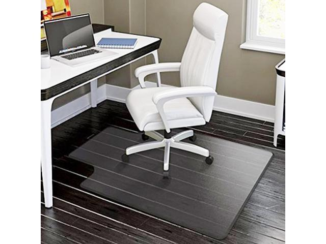 """New 48"""" x 36"""" PVC Chair Office Home Desk Floor Mat for Tile Wood 1.50mm With Lip"""