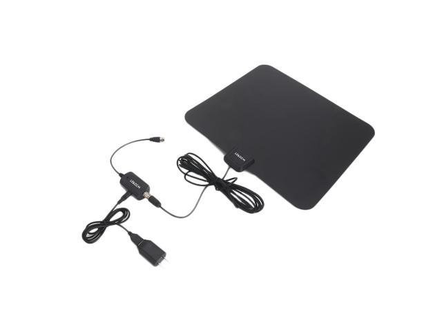 1080P HD Digital Indoor Amplified TV Antenna HDTV with Amplifier 50Miles VHF/UHF