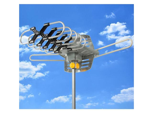 HDTV 1080P TV Antenna Amplified Digital TV Antenna 150 Miles Range Outdoor 36dB