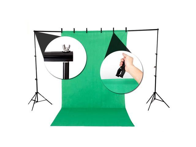 "135W Photography Lighting Kit 33"" Umbrella 3* Non-woven Backdrop Stand Set"