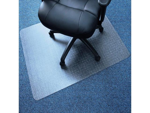 "36 x 48""Hard Floor Home Office PVC Floor Mat Square for Carpet Office Roll Chair"