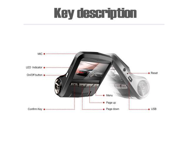 ADDKEY Novatek 96658 car dvr camera Full HD 1080P wifi app OBD2 Diagnostic dash cam Sony IMX322 sensor night vision dvr recorder