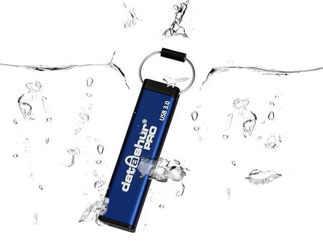iStorage datAshur Pro 4GB Hardware Encrypted USB 3.0 Flash Drive AES-XTS 256-bit - FIPS 140-2 level 3 (IS-FL-DA3-256-4)