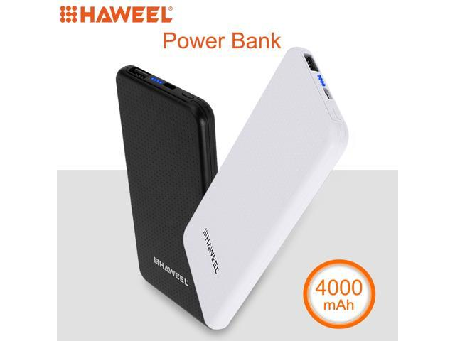 HAWEEL Ultrathin 4000mAh External Battery Power Bank for iPhone x,  iPhone 8, Samsung, LG, HTC, Huawei, Xiaomi etc