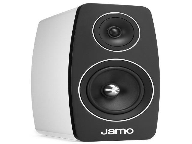 Jamo C-103-HG-WHT Bookshelf Speaker - High Gloss White (Pair)