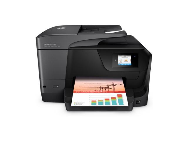 Refurbished: HP OfficeJet 8702 All-in-One Printer with Mobile Printing