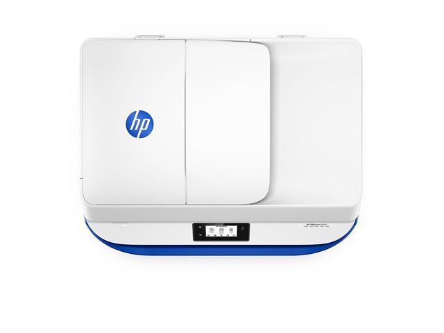 Refurbished: HP OfficeJet 4650 Wireless All-in-One Photo Printer, in White and Blue