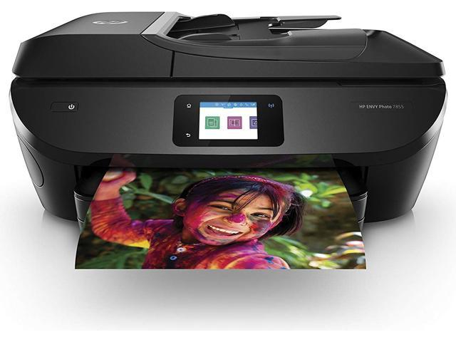 Refurbished: HP ENVY Photo 7855 All-in-One Printer with Wireless direct printing
