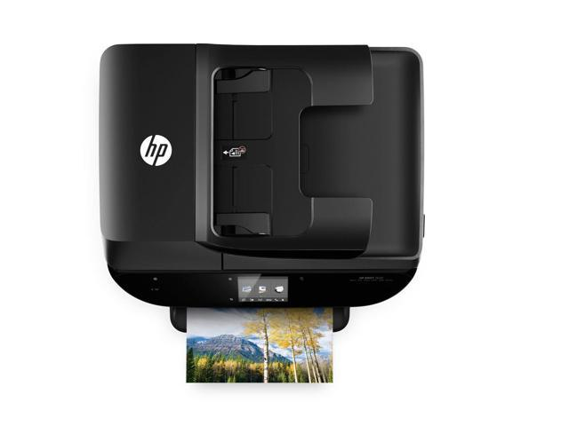 Refurbished: HP ENVY 7644 e-All-in-One Photo Quality Inkjet Printer, wireless printing, mobile phone compatible, in black