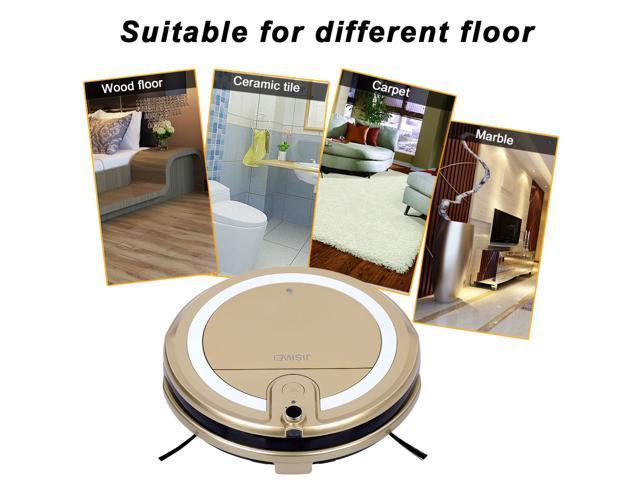 JISIWEI I3 Wi-Fi Enabled Robotic Vacuum Cleaner Automatic Self ...