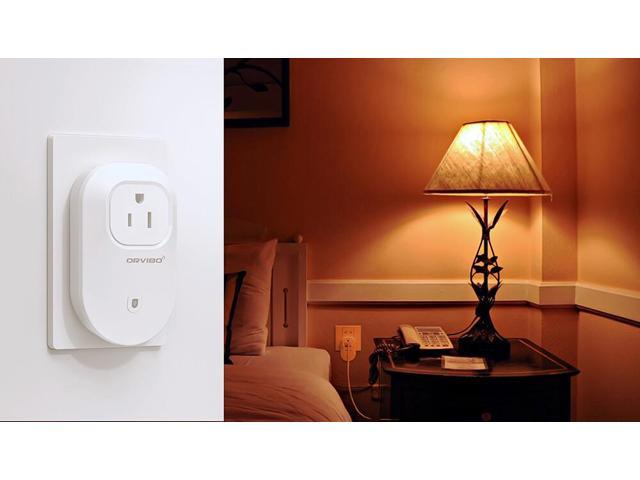Orvibo S25US WiFi Smart Plug Works with Amazon Alexa Control Devices from Anywhere Wireless Switch with APP -White