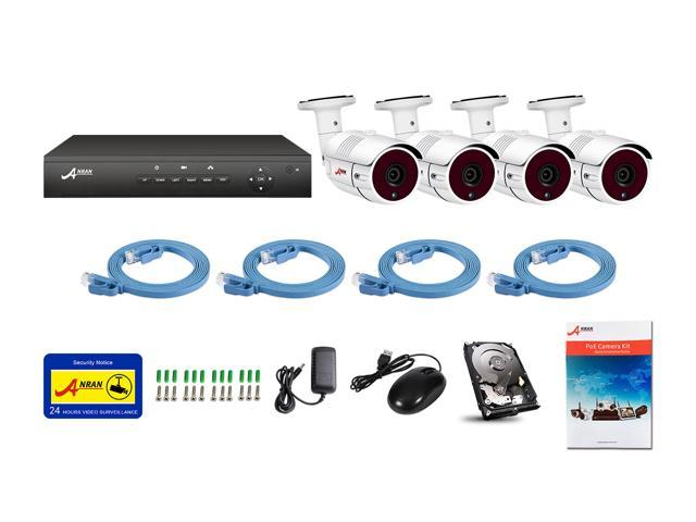 Anran 2mp 1920 X 1080p Full Poe Ip Camera Security System