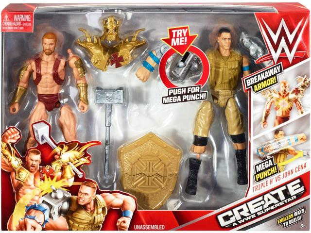 WWE Create A Superstar, John Cena v Triple H Expansion Pack