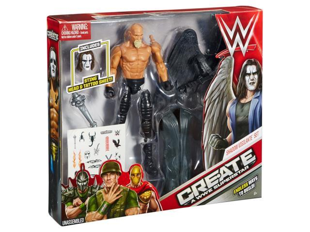 Create a WWE Superstar Sting Pack