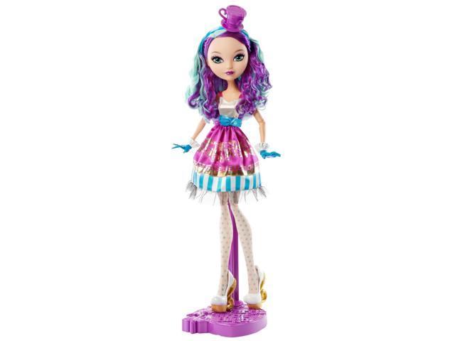 """Ever After High Way Too Wonderland Madeline Hatter 17"""" Doll"""