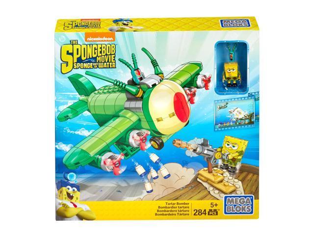 Mega Bloks SpongeBob Tartar Bomber