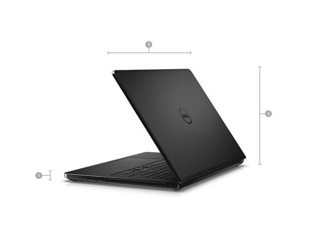 "Dell Inspiron 5000 Series 15.6"" HD Notebook, Intel Core i7-7500U Upto 3.5GHz, 8GB DDR4, 1TB HDD, DVD-RW, Wifi, Bluetooth, HDMI, Windows 10 Professinal 64Bit"