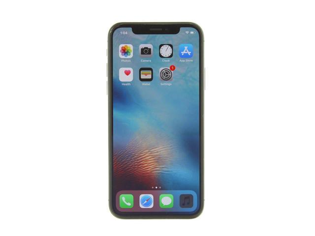 Refurbished: Apple iPhone X a1901 64GB Space Gray AT&T - Excellent