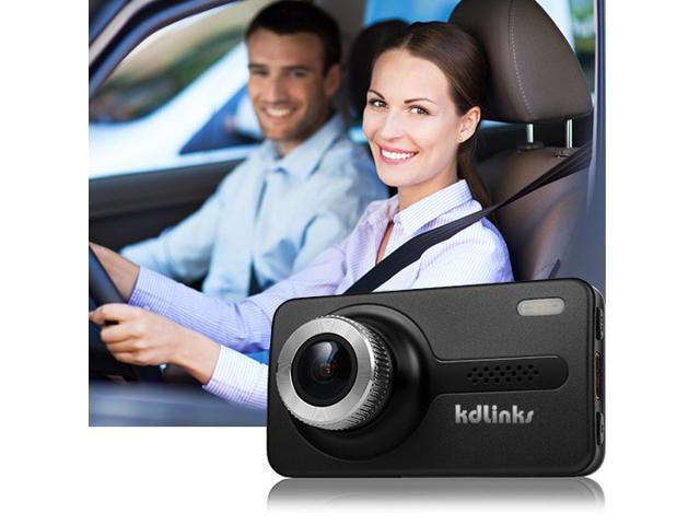"kdLinks X1 Full-HD 1920x1080 165 Degree Wide Angle Car Dashboard Camcorder with GPS, G-Sensor, WDR Superior Quality Night Mode, 6-Glass Lens, 2.7"" Screen and 8GB Micro SD Included"