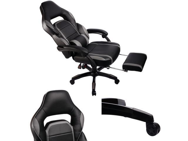 GTracing High Back Ergonomic Gaming Chair Racing Chair Napping Computer Office Chair With Padded Footrest