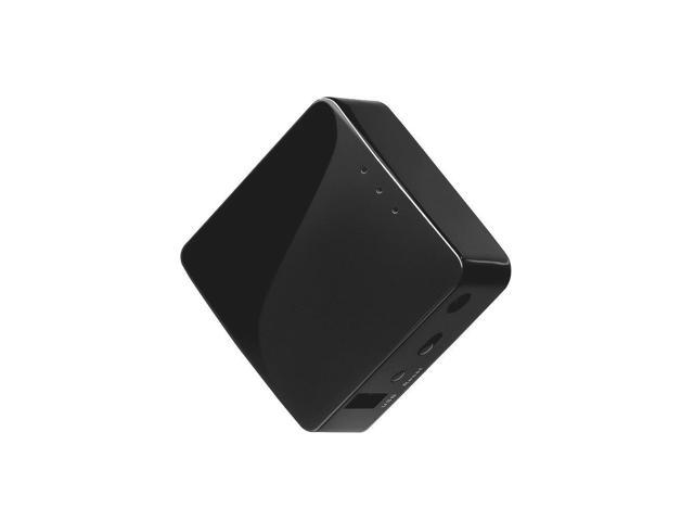 GL.iNet GL-AR300M-Lite Mini Travel Router, OpenWrt Pre-installed, Repeater Bridge, 300Mbps High Performance, One Ethernet port, 16MB Nor flash, 128MB RAM, OpenVPN, Tor Compatible