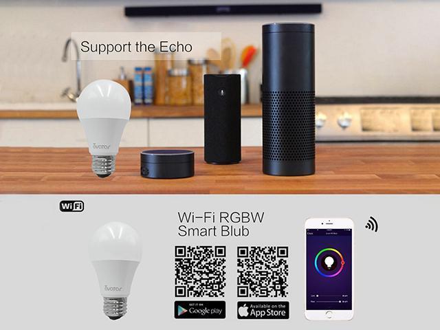 Avatar Controls Smart LED Light Bulb, 10W E26 Dimmable Color