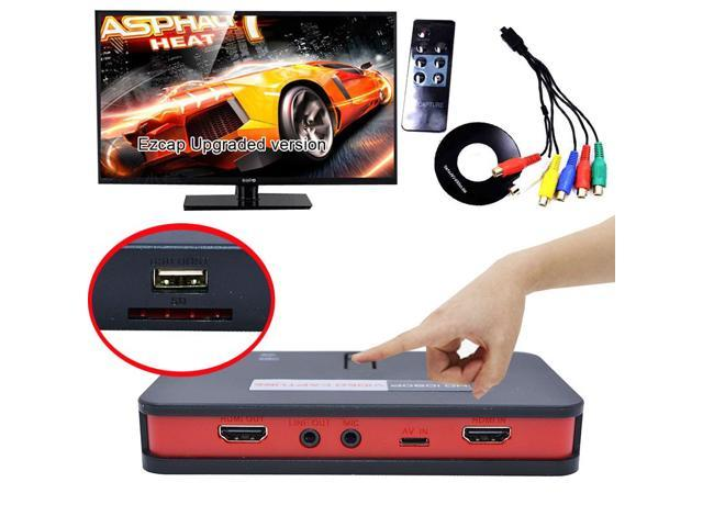 EZCAP 284 1080P HDMI Game HD Video Capture Box Grabber For XBOX PS3 PS4 TV STB Medical online Video Live Streaming