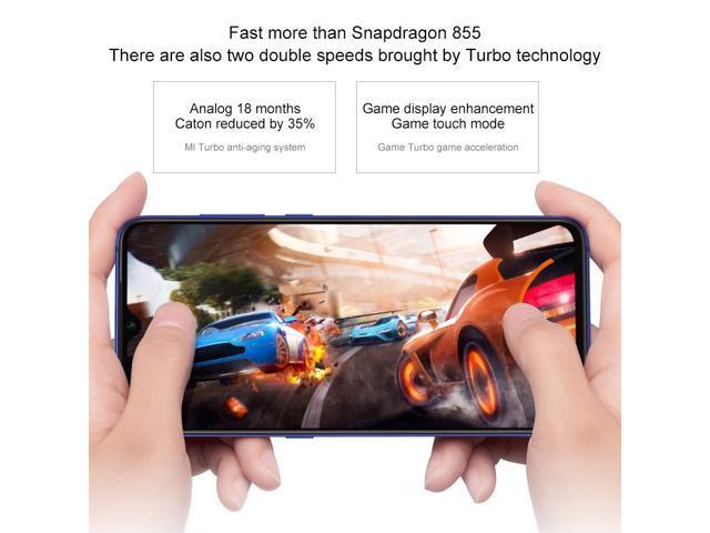 Global Version Xiaomi MI 9 MI9 6GB 128GB Rom Telephone Snapdragon 855 Octa Core Kryo 485