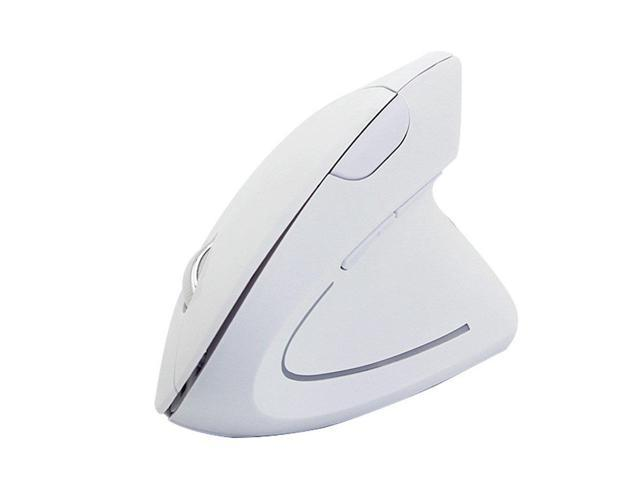 2.4G Wireless Ergonomic Vertical Mouse 6 Buttons Optical 1600DPI Gaming Mice with Colorful LED Light Computer Mouse