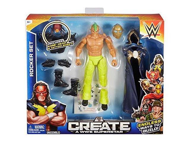Create a WWE Superstar Kane Rocker Pack