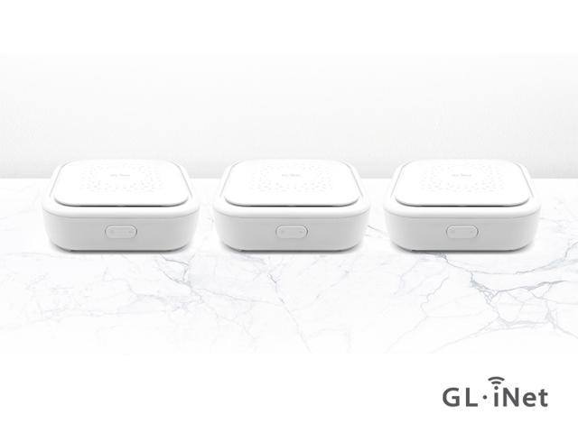 GL.iNet GL-B1300 Home AC Gigabit Router, 400Mbps(2.4G)+867Mbps(5G) high speed, DDR3L 256MB RAM/32MB FLASH ROM, Wi-Fi Mesh Networking, OpenWrt pre-installed